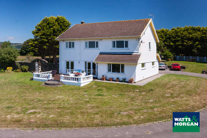 4 Bedrooms Detached House for sale in Ton Kenfig