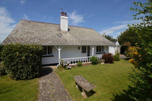 4 Bedrooms Detached Bungalow for sale in Cheriton Bishop, Exeter, Devon