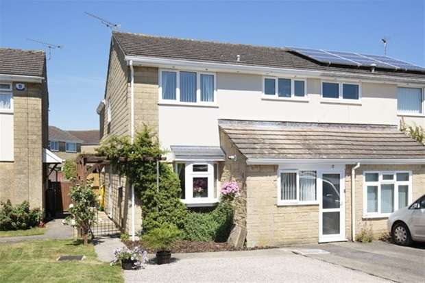 4 Bedrooms Semi Detached House for sale in Westwood Drive, Frome