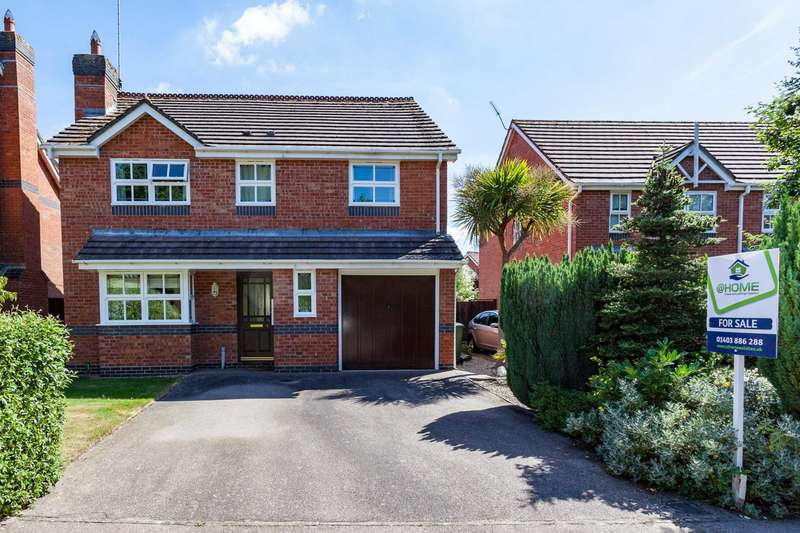 4 Bedrooms Detached House for sale in Nyes Lane, Southwater