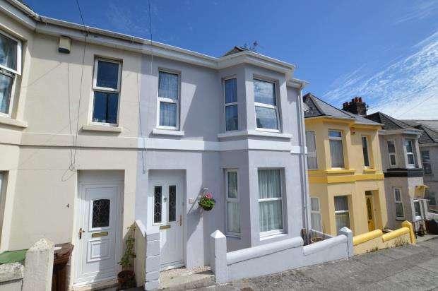 4 Bedrooms Terraced House for sale in Mostyn Avenue, Plymouth, Devon