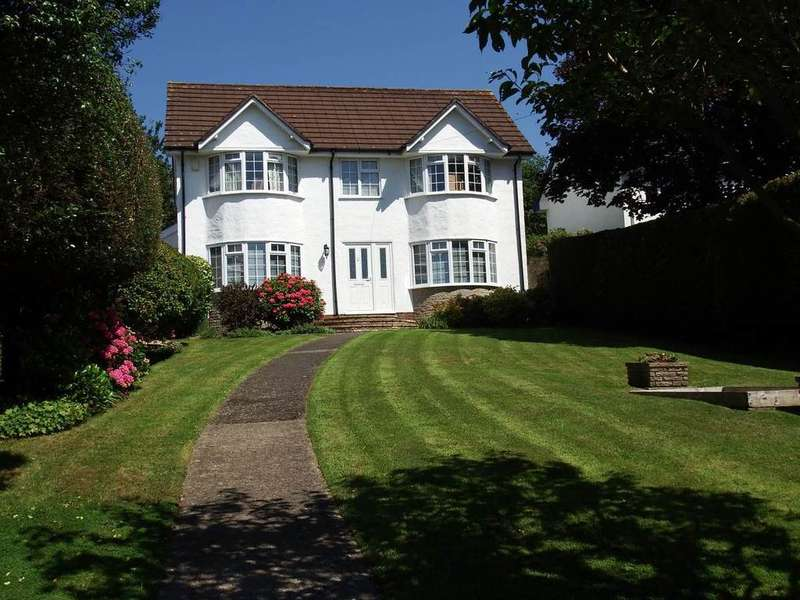 4 Bedrooms Detached House for sale in Hoopers End, Goodleigh Road, Barnstaple