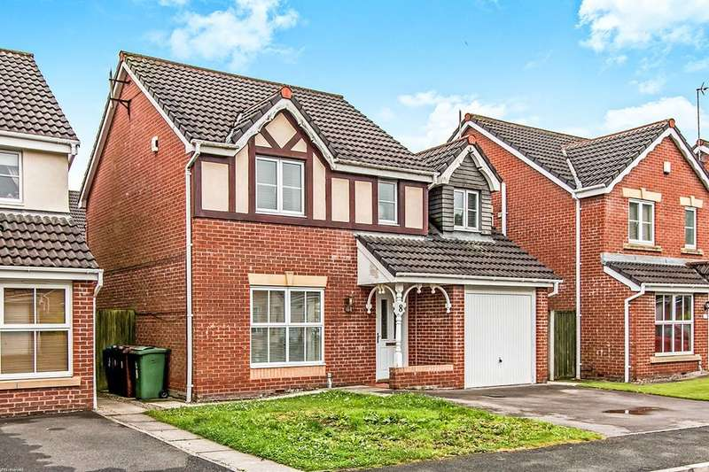 4 Bedrooms Detached House for sale in Porterfield Drive, Tyldesley, Manchester, M29
