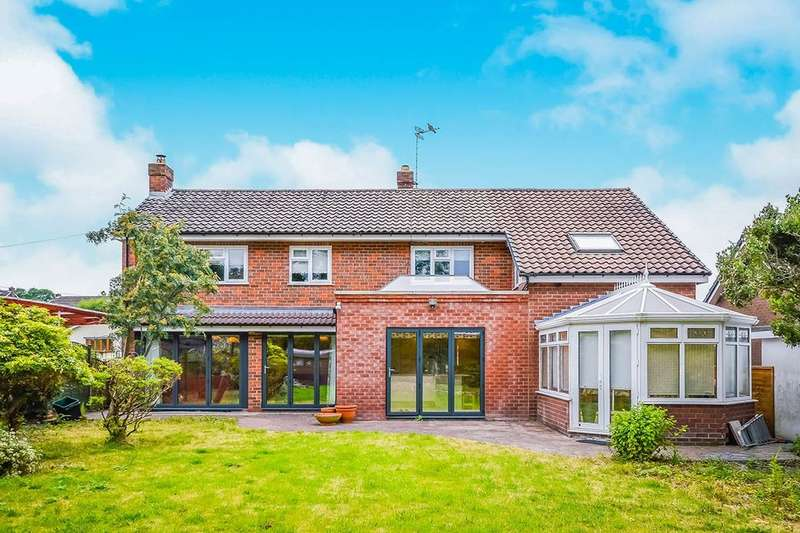 5 Bedrooms Detached House for sale in Hampton Close, Oswestry, SY11