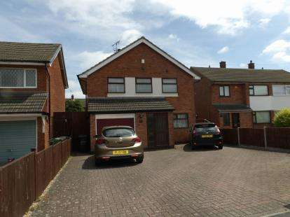 3 Bedrooms Detached House for sale in Allington Drive, Birstall, Leicester, Leicestershire