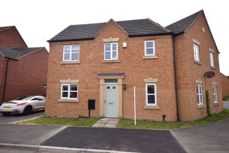 3 Bedrooms Semi Detached House for sale in Bennet Drive, Kirkby-In-Ashfield, Nottingham, NG17