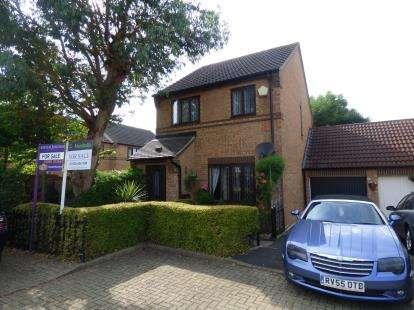 3 Bedrooms Link Detached House for sale in Rillington Gardens, Emerson Valley, Milton Keynes, Buckinghamshire