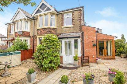 3 Bedrooms Semi Detached House for sale in Giller Close, Penwortham, Preston, Lancashire, PR1