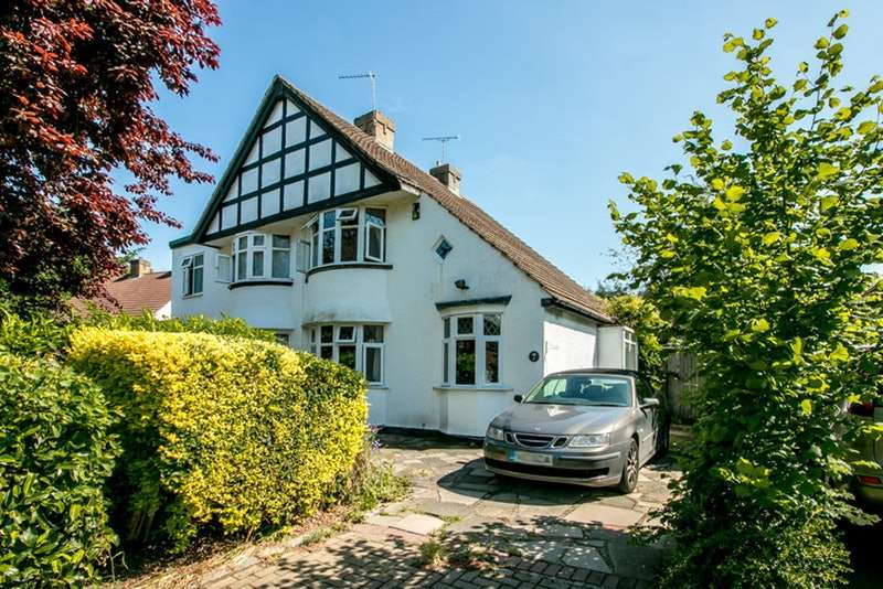 3 Bedrooms Semi Detached House for sale in Magpie Hall Lane, Bromley, Kent, BR2