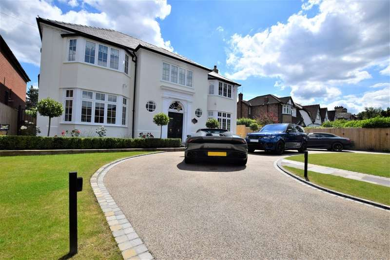 6 Bedrooms Detached House for sale in Moseley Road, Cheadle Hulme