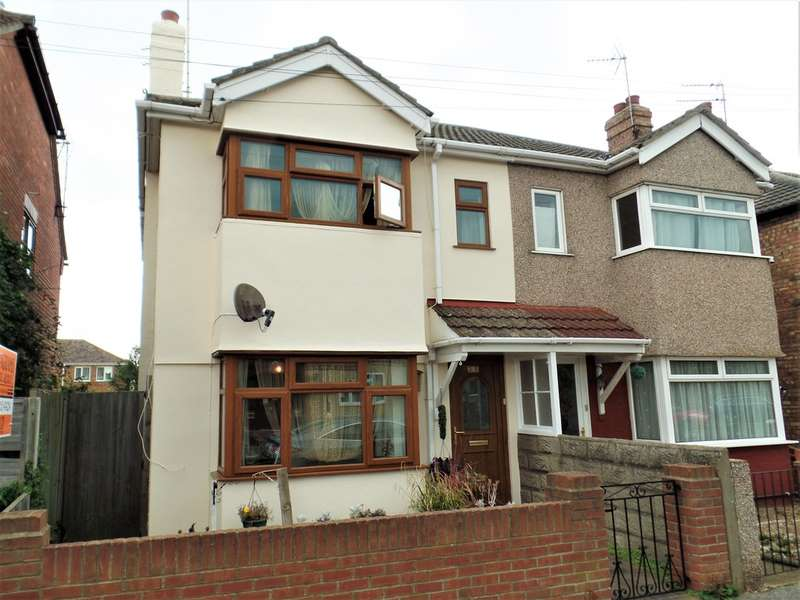 3 Bedrooms Semi Detached House for sale in Harrow Road, Clacton on Sea