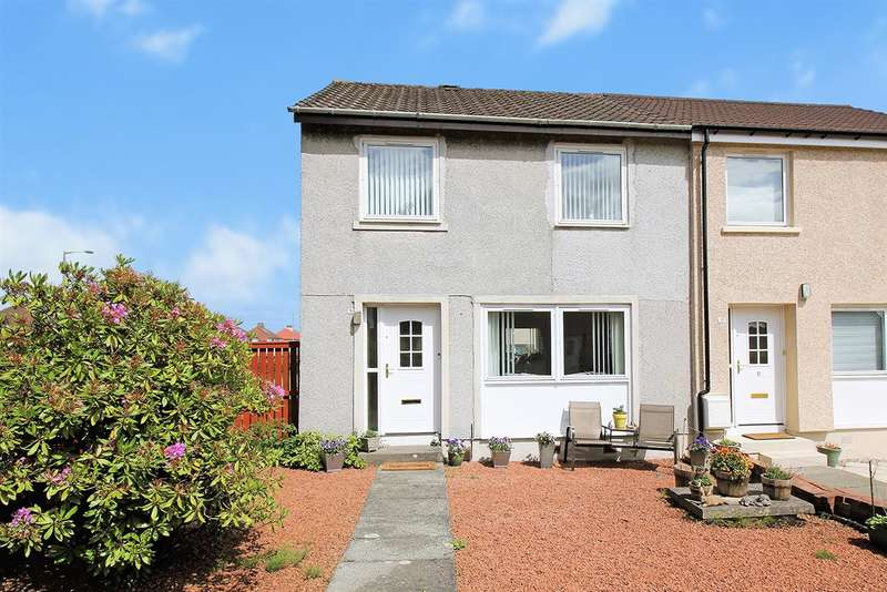 3 Bedrooms End Of Terrace House for sale in Balmoral Place,, Stenhousemuir