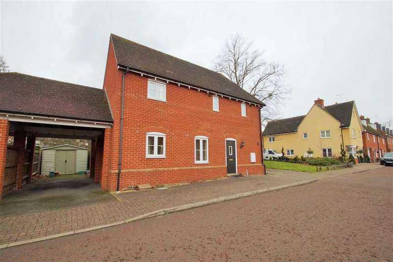 3 Bedrooms Detached House for sale in Little Foxburrows, Abbey Fields, Colchester