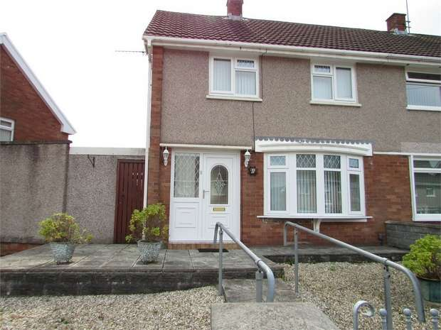 2 Bedrooms Semi Detached House for sale in Darren Road, Briton Ferry, West Glamorgan