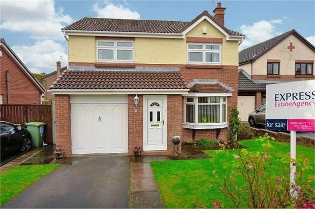 4 Bedrooms Detached House for sale in Hilton Drive, Peterlee, Durham