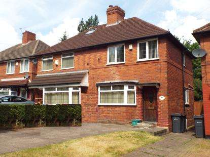 3 Bedrooms Semi Detached House for sale in Monsal Road, Great Barr, Birmingham, West Midlands