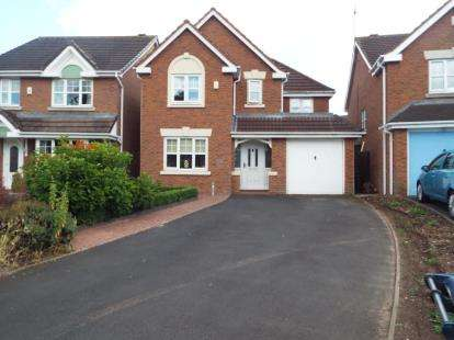 4 Bedrooms Detached House for sale in Eaton Wood Drive, Sheldon, Birmingham, West Midlands