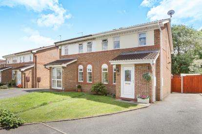 3 Bedrooms Semi Detached House for sale in Berrington Drive, Coseley, Wolverhampton, West Midlands