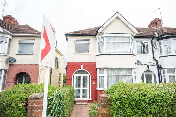 3 Bedrooms End Of Terrace House for sale in Grove Crescent, KINGSBURY, NW9 0LT