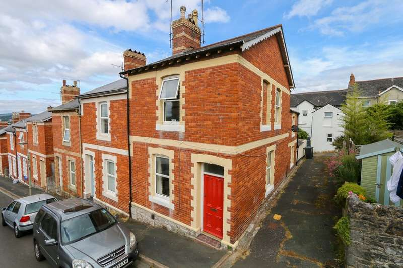 3 Bedrooms End Of Terrace House for sale in Albion Hill, Newton Abbot
