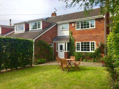 4 Bedrooms Semi Detached House for sale in St. Georges Crescent, Chester, Cheshire, CH4