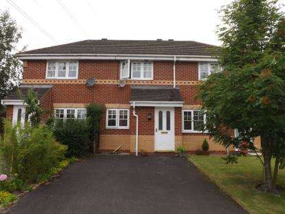 2 Bedrooms House for sale in Cloughfield, Penwortham, Preston, PR1