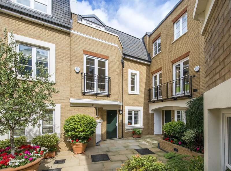 4 Bedrooms House for sale in Vantage Place, Kensington, London, W8