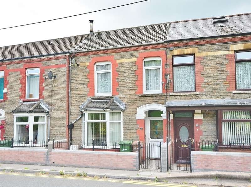 3 Bedrooms Terraced House for sale in Caerphilly Road, Senghenydd, Caerphilly, CF83