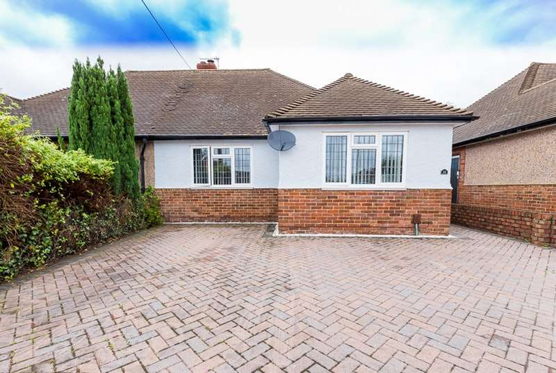 2 Bedrooms Bungalow for sale in Mansfield Road, Hextable, Kent, BR8