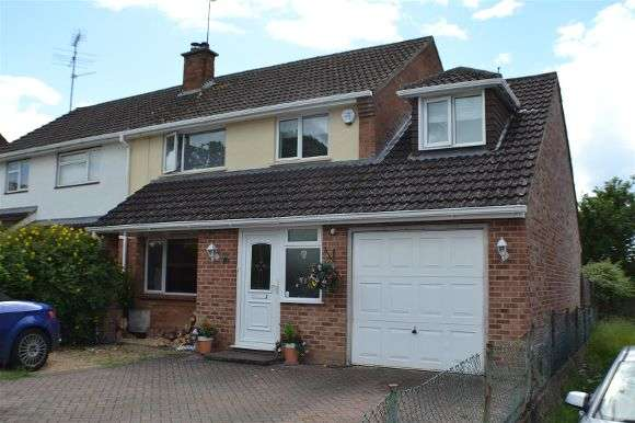4 Bedrooms Semi Detached House for sale in Millers Road, Tadley