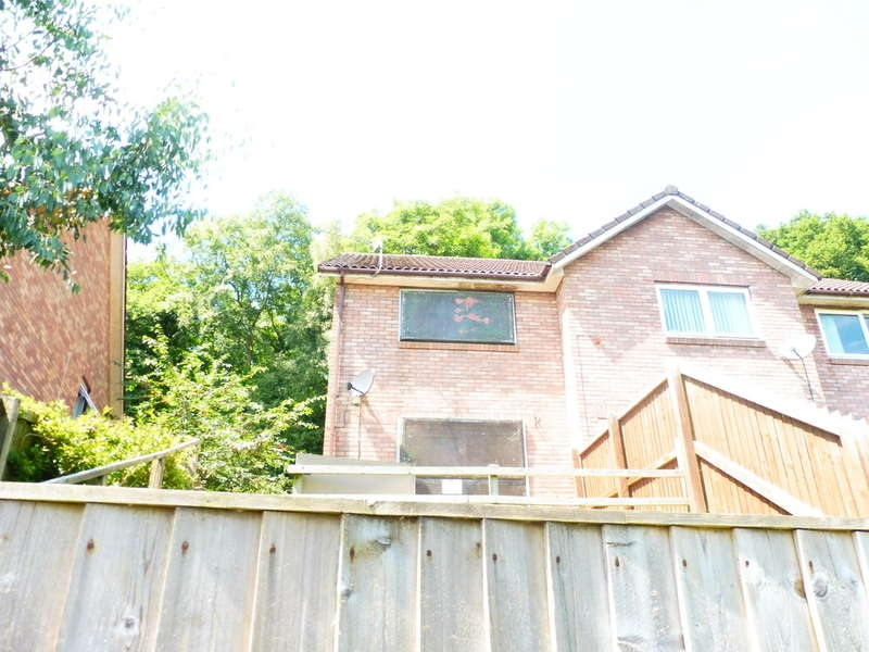 2 Bedrooms End Of Terrace House for sale in Hafod Court Road, Thornhill, Cwmbran