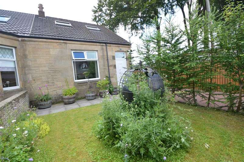 2 Bedrooms Semi Detached House for sale in Wishaw Low Road, Cleland
