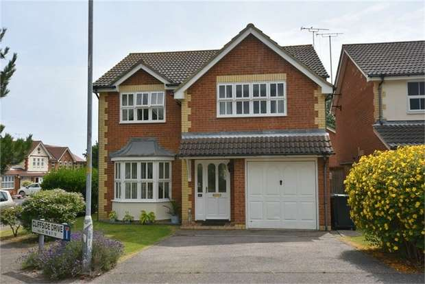 4 Bedrooms Detached House for sale in Cliffside Drive, Broadstairs, Kent