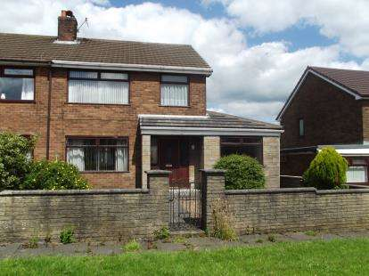 3 Bedrooms Semi Detached House for sale in Haigh Road, Aspull, Wigan, Greater Manchester, WN2