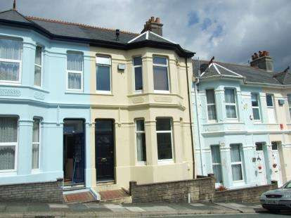2 Bedrooms Terraced House for sale in St Judes, Plymouth, Devon