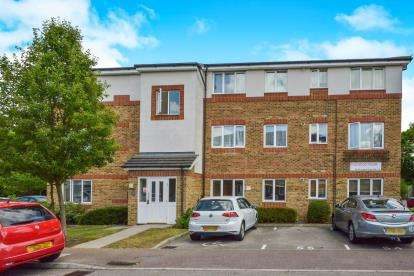 2 Bedrooms Flat for sale in Dashwood House, Akerlea Close, Milton Keynes, Buckinghamshire