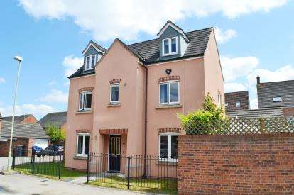 5 Bedrooms Detached House for sale in Halton Way Kingsway, Quedgeley, Gloucester, Gloucestershire