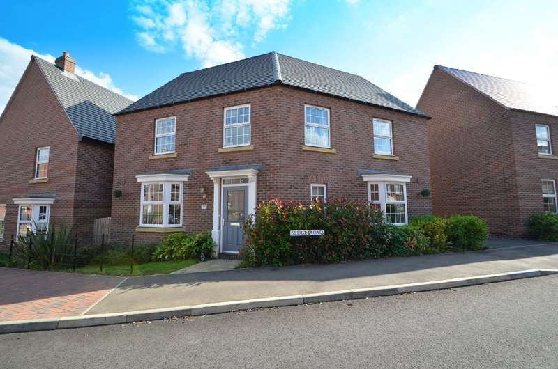 4 Bedrooms Detached House for sale in Sedge Road, Coton Park, Rugby