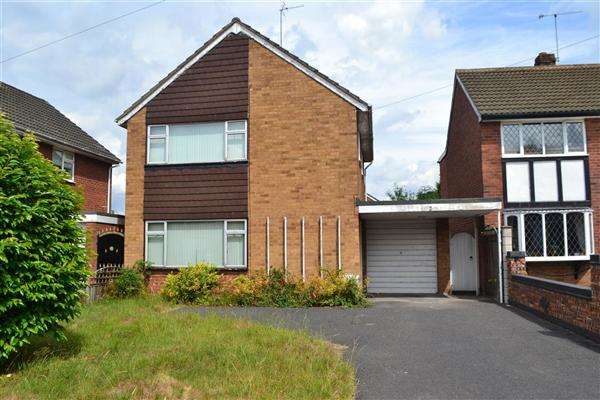 3 Bedrooms Detached House for sale in Yeadon Gardens, Finchfield, Wolverhampton