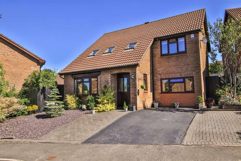 4 Bedrooms Detached House for sale in Heol Y Cadno, Thornhill, Cardiff