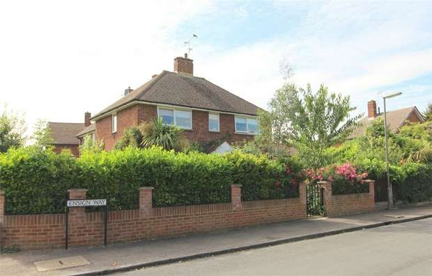 3 Bedrooms End Of Terrace House for sale in Ensign Way, Stanwell, Middlesex