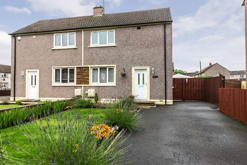 2 Bedrooms Semi Detached House for sale in Rae's Gardens, Bonnyrigg, Midlothian, EH19 2DW