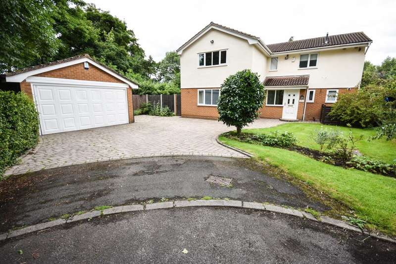5 Bedrooms Detached House for sale in Whitby Close,Poynton