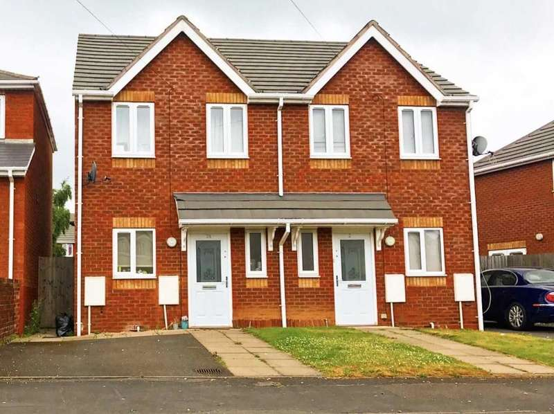 3 Bedrooms Semi Detached House for sale in LECKIE ROAD, WALSALL, WEST MIDLANDS, WS2 8AW