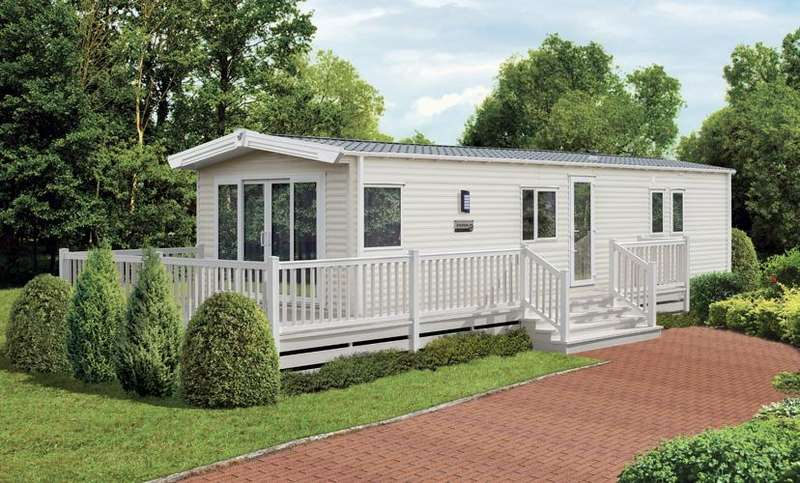 3 Bedrooms Park Home Mobile Home for sale in Ocean Edge Holiday Park, Moneyclose Lane, Heysham, Morecambe, Lancashire, LA3 2XA