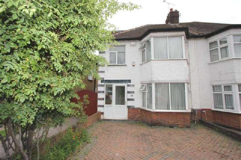 4 Bedrooms Semi Detached House for sale in Sefton Avenue, London, Greater London. NW7 3QB