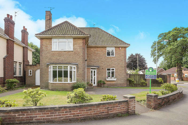 4 Bedrooms Detached House for sale in Castlecroft Road, Wolverhampton, WV3