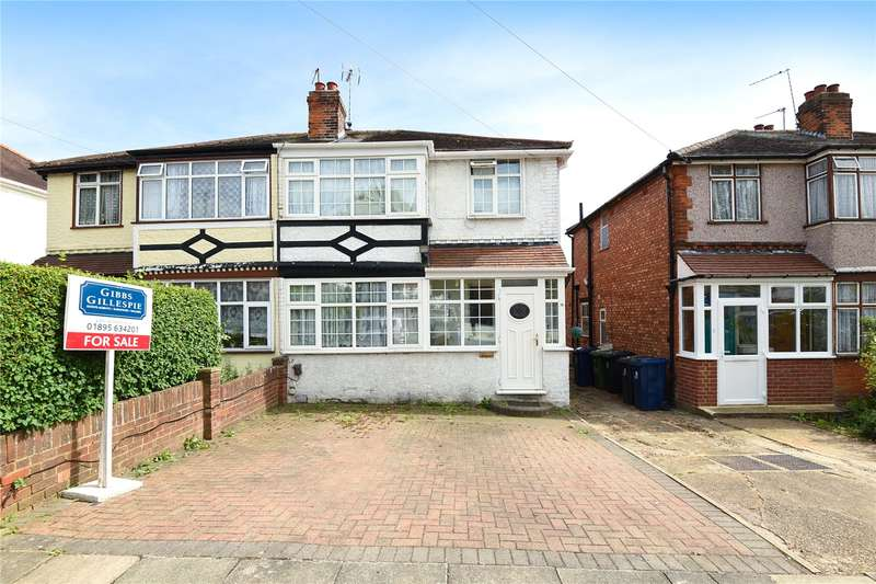 3 Bedrooms Semi Detached House for sale in Wood End Gardens, Northolt, Middlesex, UB5