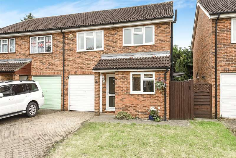 3 Bedrooms Semi Detached House for sale in Frays Close, West Drayton, Middlesex, UB7