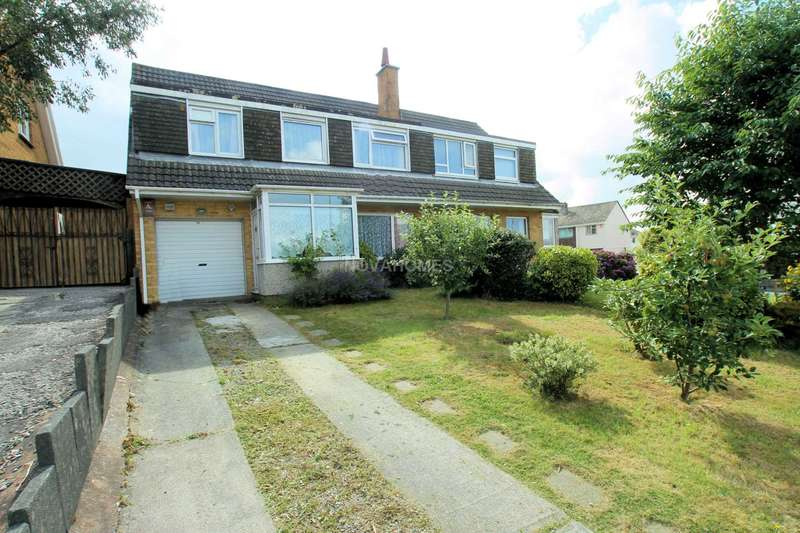 5 Bedrooms Semi Detached House for sale in Boringdon Hill, Plympton, PL7 4DN